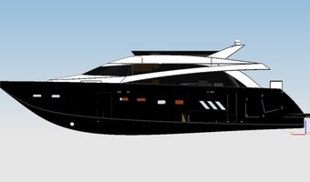 Conceptual design of a leisure yacht